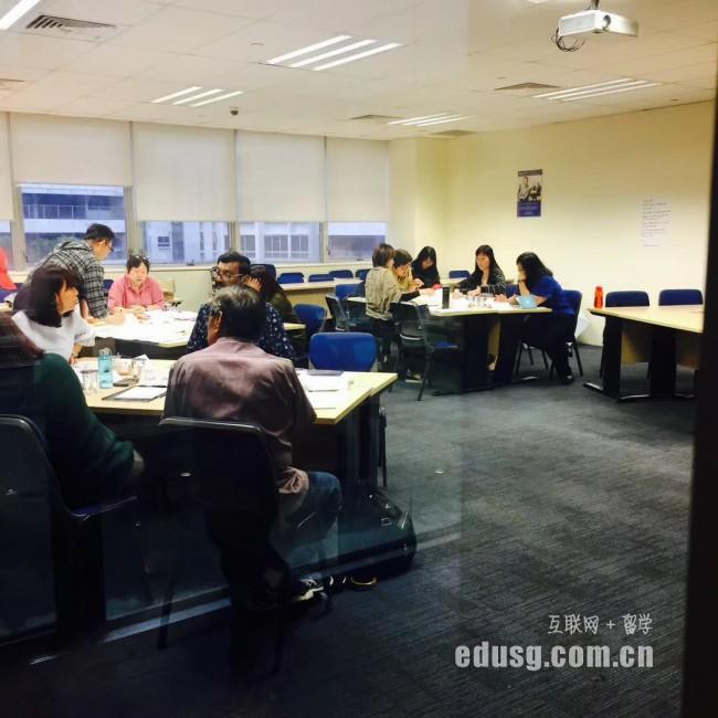 新加坡留学研究生学制