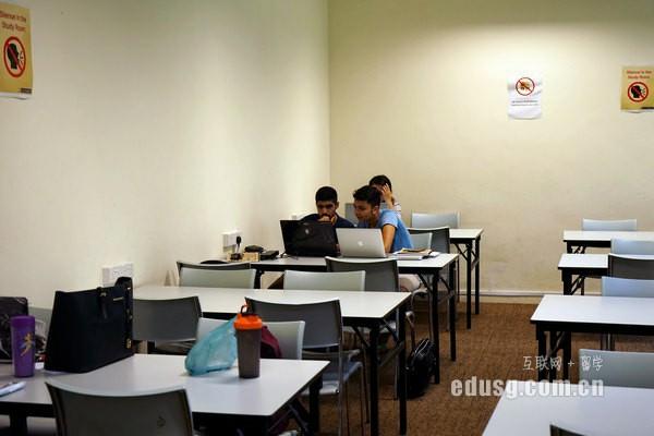 去新加坡留学一年的学费