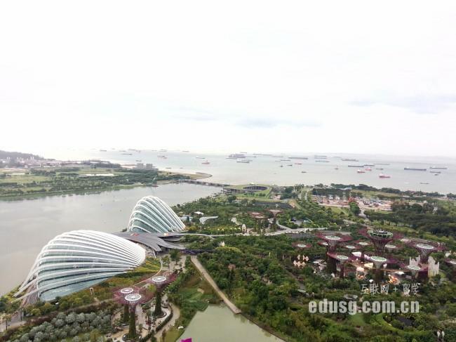 新加坡留学一年费用多少钱