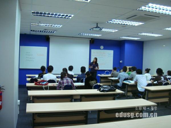 高中毕业后留学新加坡