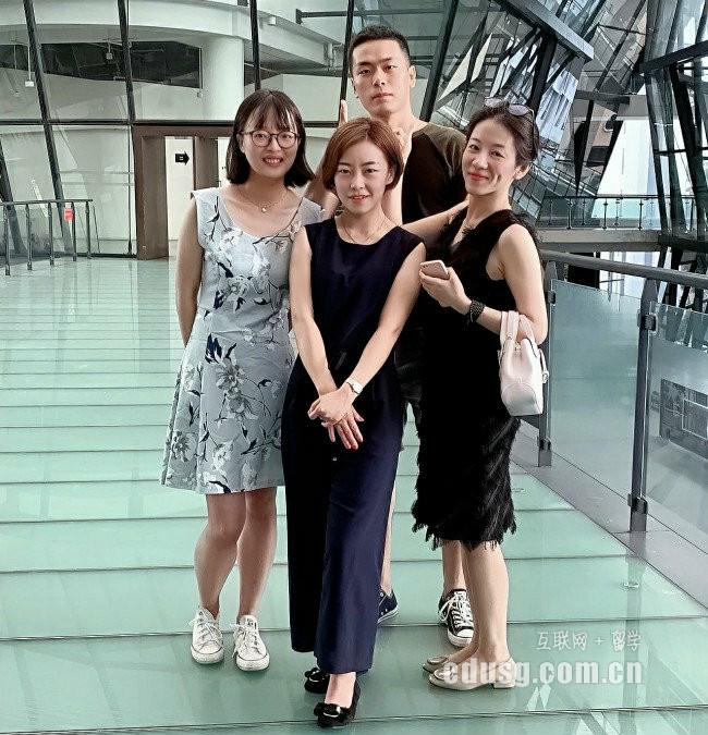 工作后申请新加坡留学