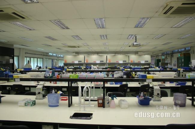 新加坡留学的生活费