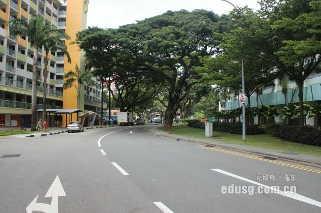 大专毕业去新加坡留学要多少钱