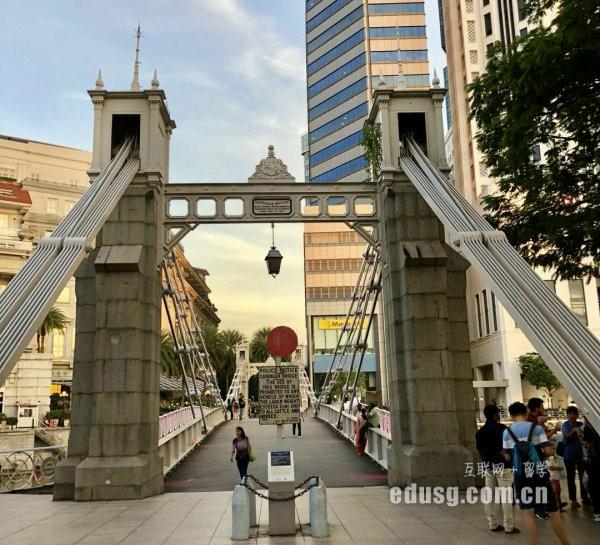 高二在校生赴新加坡留学