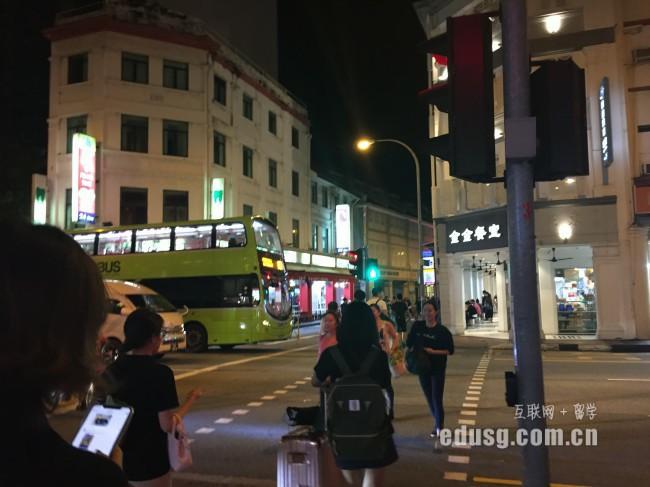 大三想去新加坡留学