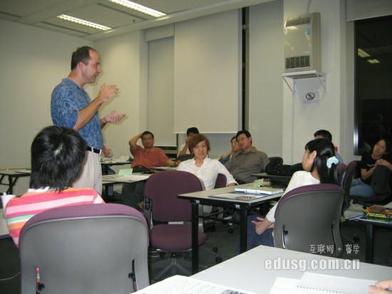 新加坡研究生留学一年费用是多少