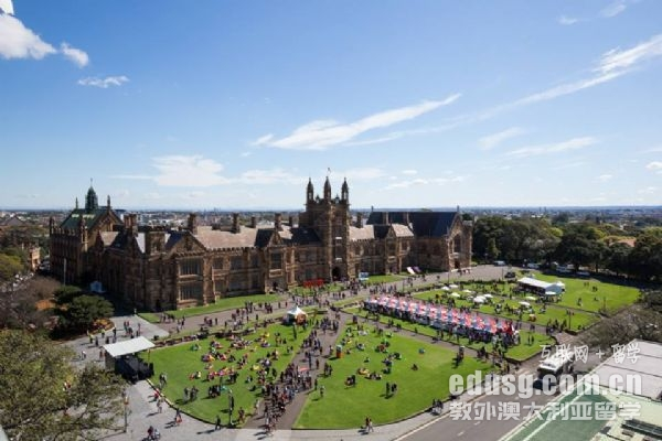 悉尼大学工科都有什么