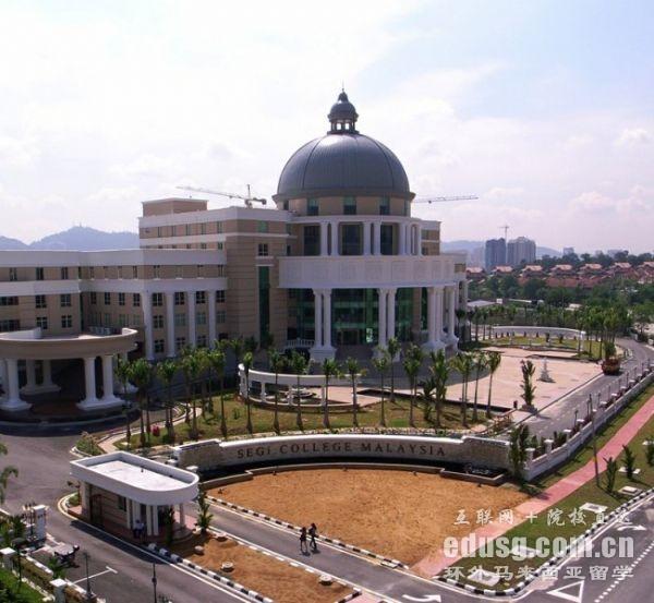 马来西亚私立大学读研费用
