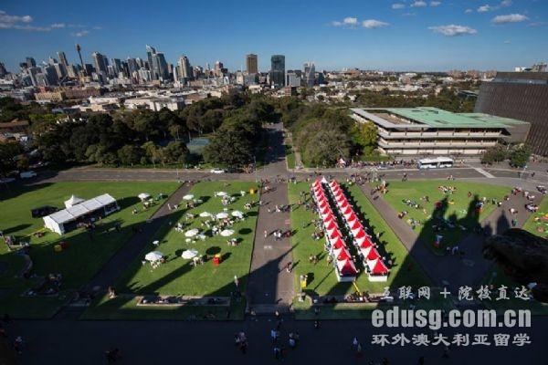 澳洲悉尼大学商学院专业排名