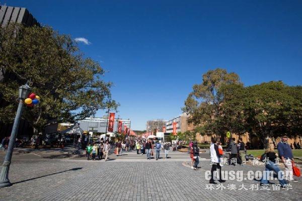 悉尼大学的位置