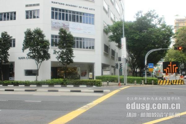 新加坡南洋艺术学院留学