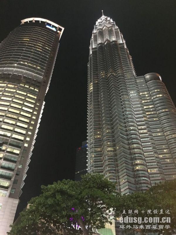 马来西亚世纪大学读硕士费用