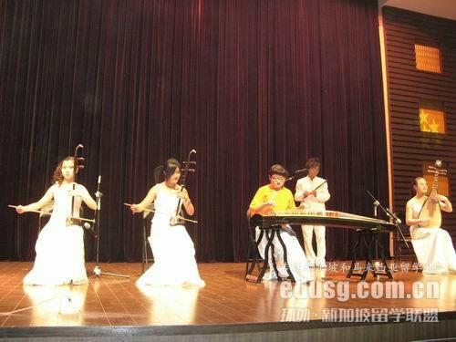 新加坡莱佛士音乐学院招生要求