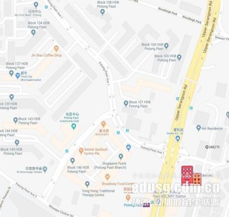 新加坡詹姆斯库克大学学生住宿