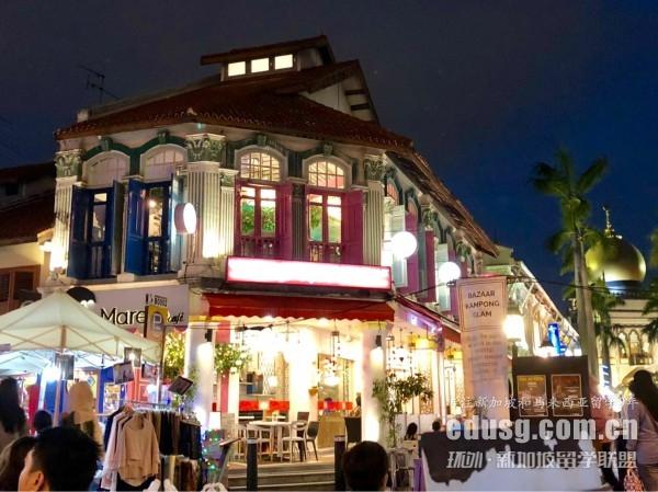 高考后考雅思留学新加坡