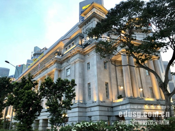 高一去新加坡留学条件