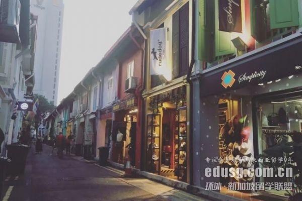 高考结束新加坡留学条件费用