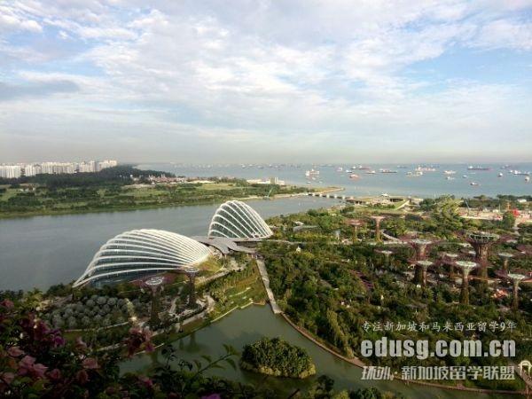 初中去新加坡留学一年多少钱