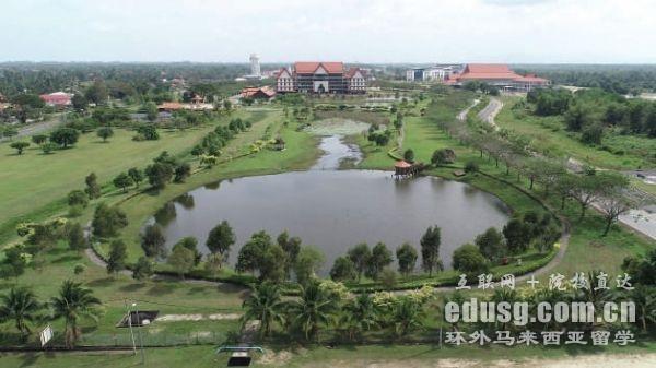 马来西亚吉兰丹大学周边环境
