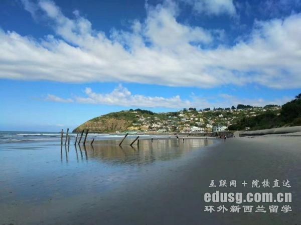 初中去新西兰留学费用多少钱