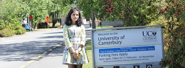 教外留学应邀访问新西兰坎特伯雷大学