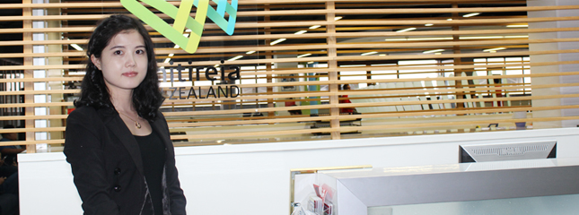 教外留学应邀访问新西兰维特利亚理工学院